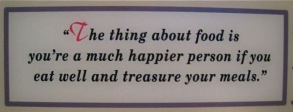 Julia Child, wisdom of Julia Child, advice