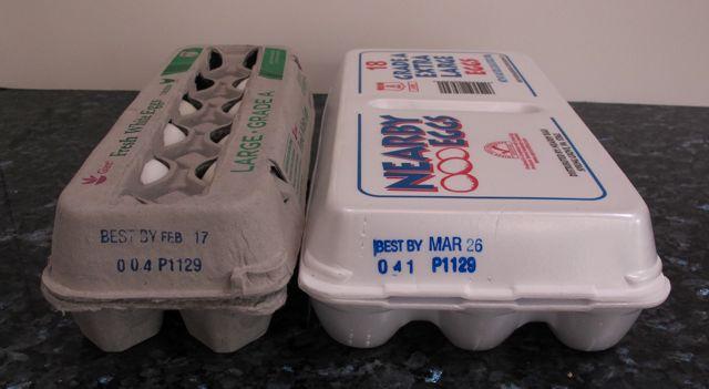 eggs, egg carton, fresh eggs