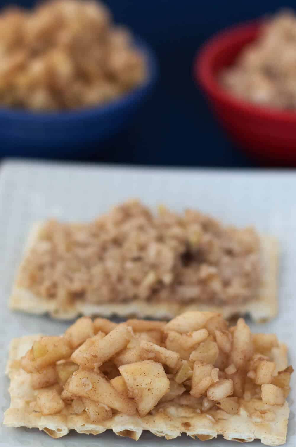 Simple charoset for Passover - a 5-ingredient version madeby Ashkenazic Jews the world over. | Mother Would Know