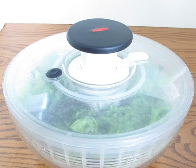 lettuce, salad, salad spinner