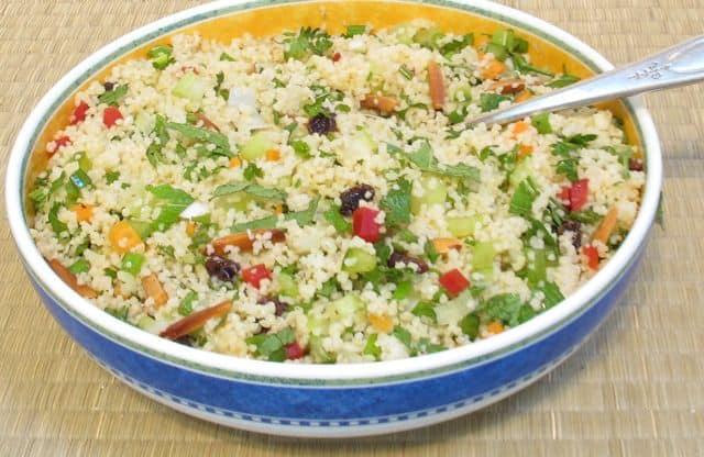couscous, cous cous, salad, picnic, pot luck, brunch