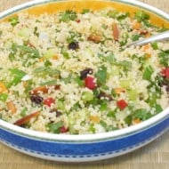 Cous cous salad – Easy picnic, pot luck & brunch fare