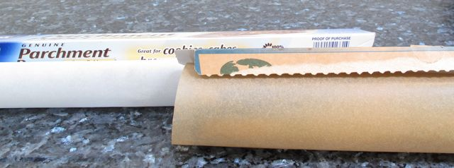 parchment paper, baking, cookies, cakes, cleaning, helpful hint