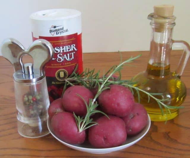 potatoes, simple recipe, ingredients, side dish, herbs, rosemary