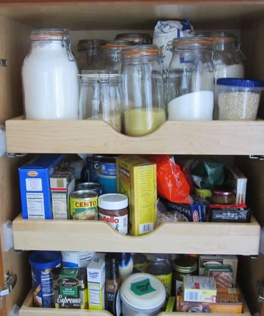 stock pantry, stock kitchen, buy food