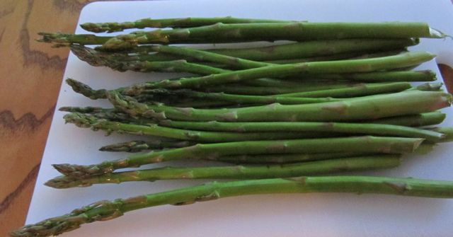 asparagus, easy recipe, roasted asparagus