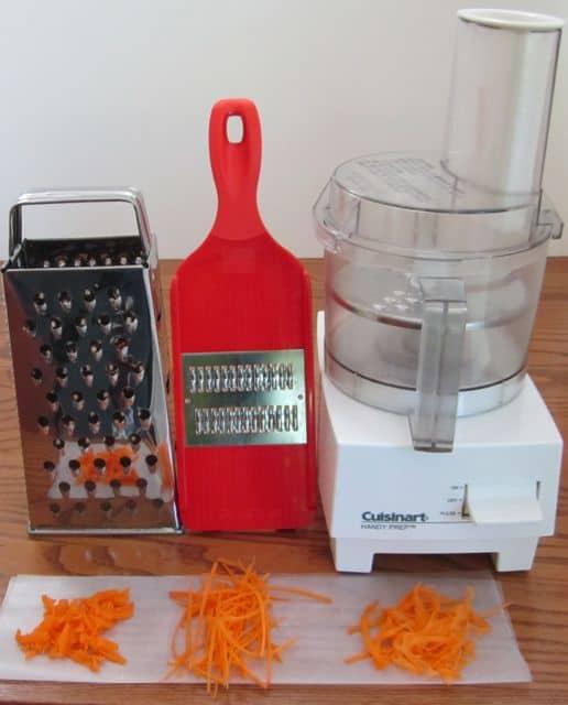 Cuisinart, food processor, mandoline, shredder, grater, box grater