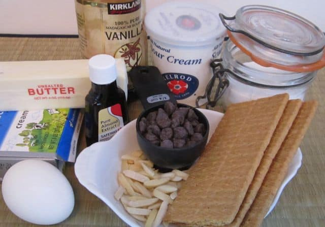 easy microwave chocolate cheesecake ingredients