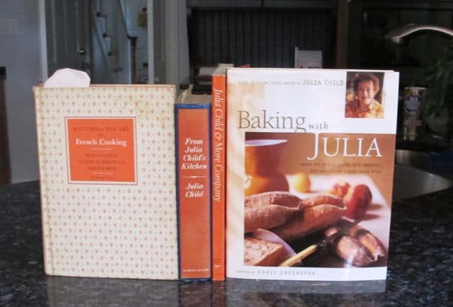 cookbooks, Julia Child, Mastering the Art of French Cooking