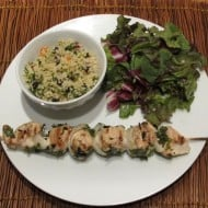 Chicken shish kebabs – skewer away!
