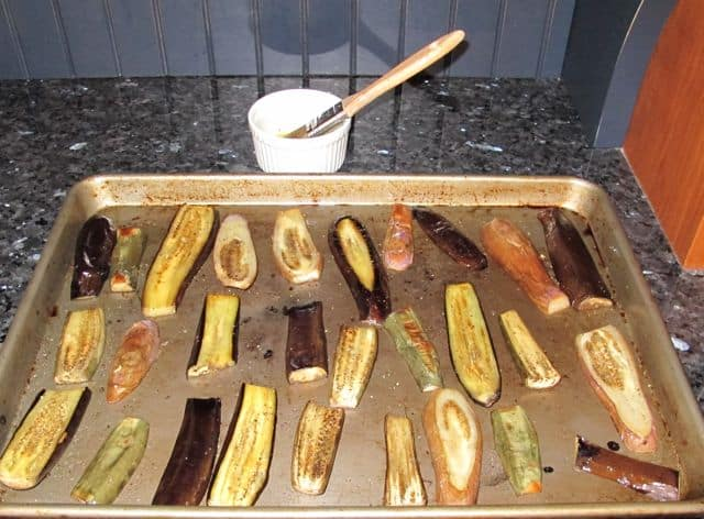 how long to cook eggplant