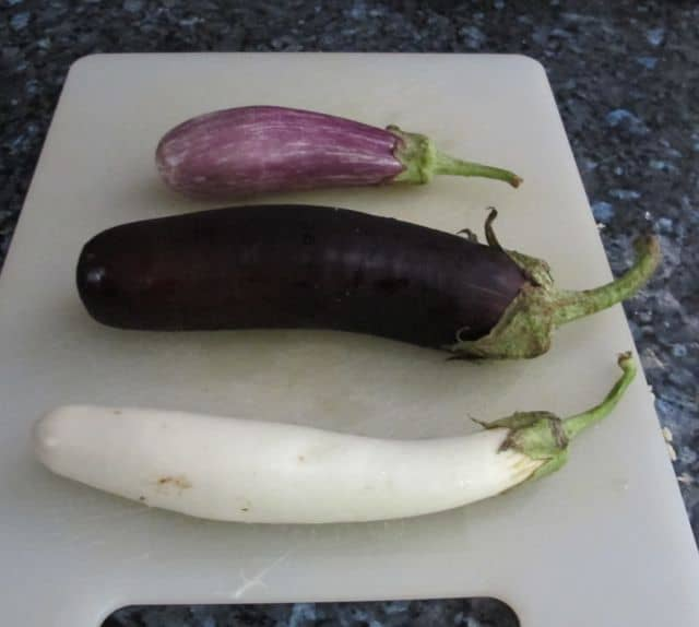 how to cook eggplant, roasting eggplants, tiny eggplants