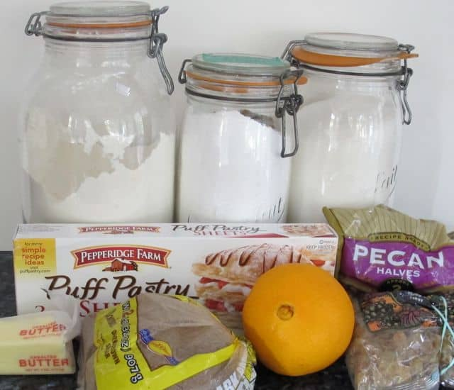 pecan raisin sweet roll ingredients