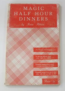 cookbook, how-to prepare dinner, meal preparation