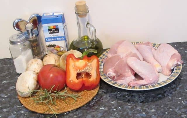 ingredients for easy chicken