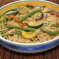 Peanut noodles – simple, quick side dish for 1 or a crowd