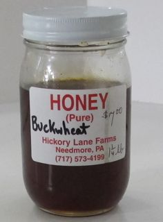 honey from farmers' market, locally produced honey