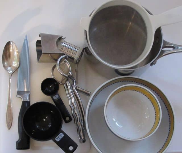 orzo making equipment and utensils