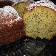 Poppy seed cake – no secrets, no shame