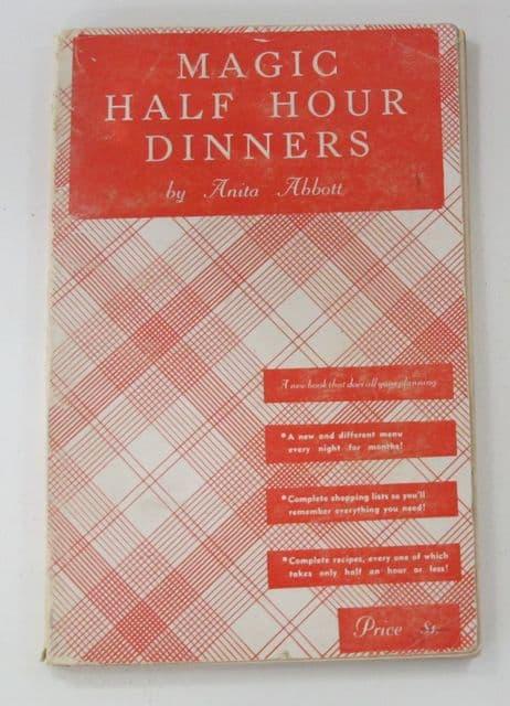 reading recipes, cookbook