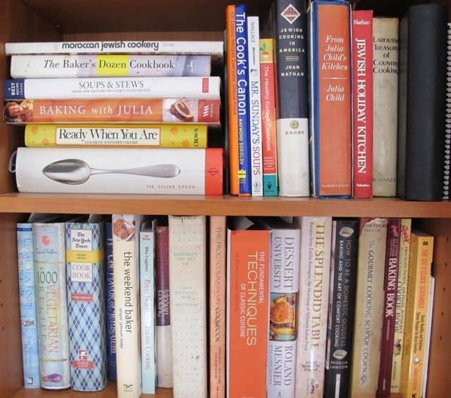 some of my cookbooks