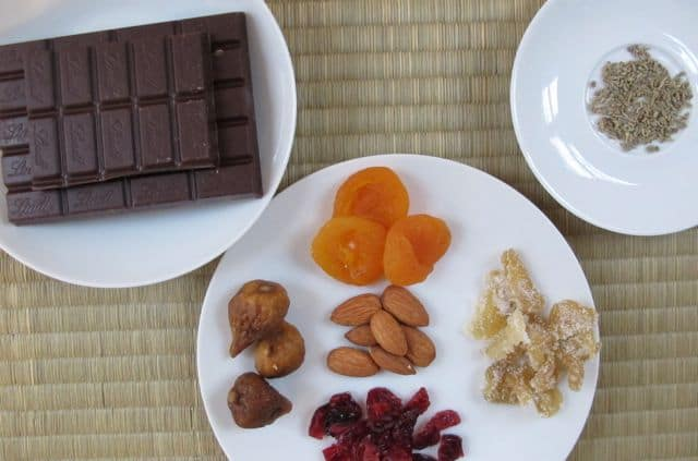 chocolate bark candy ingredients