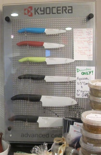 ceramic knives, holiday gift ideas