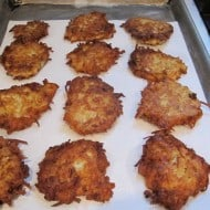 Latkes for Chanukah
