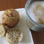 Applesauce Walnut Muffins
