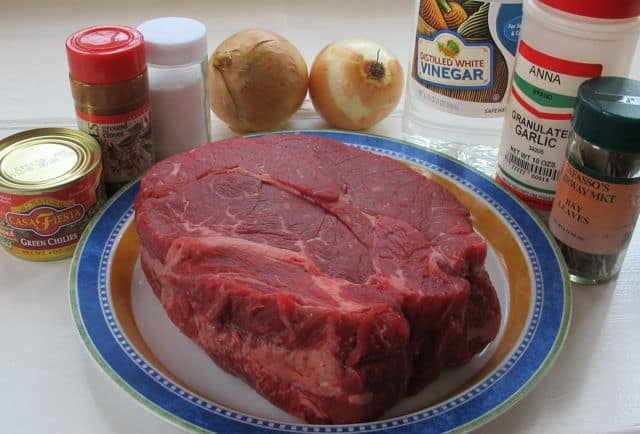 ingredients for slowcooker pot roast