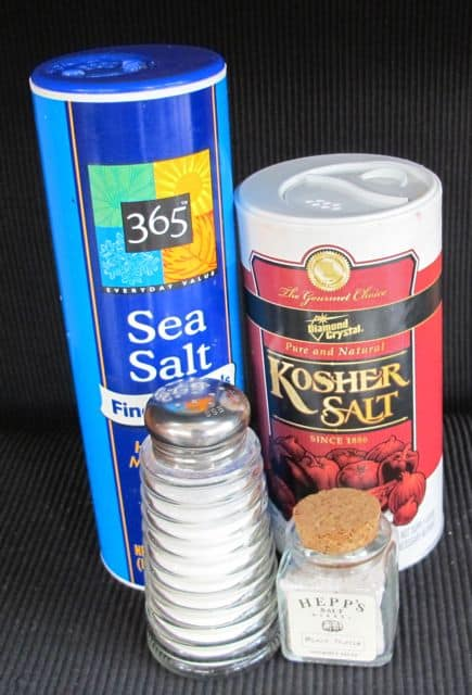 different types of salt