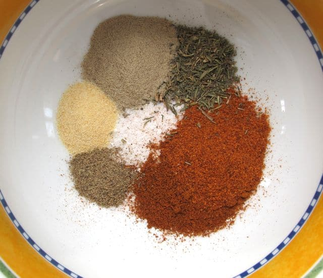 spices for slow cooker or crock pot chicken