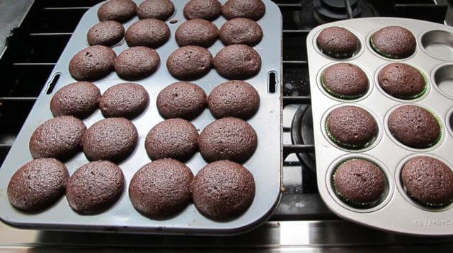 cupcakes finished baking