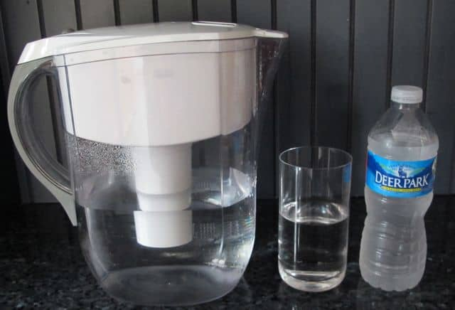 bottled water compared to tap water