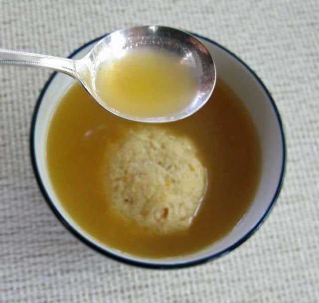 matzoh ball soup vegetarian