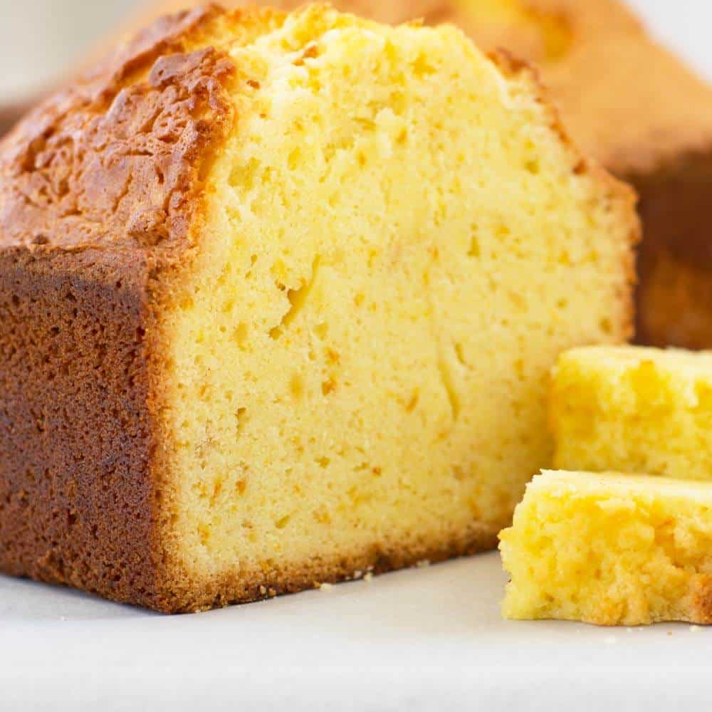 Citrus ginger loaf cake cut   Mother Would Know