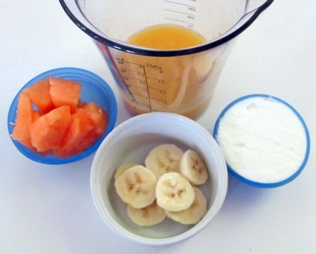 banana smoothie ingredients