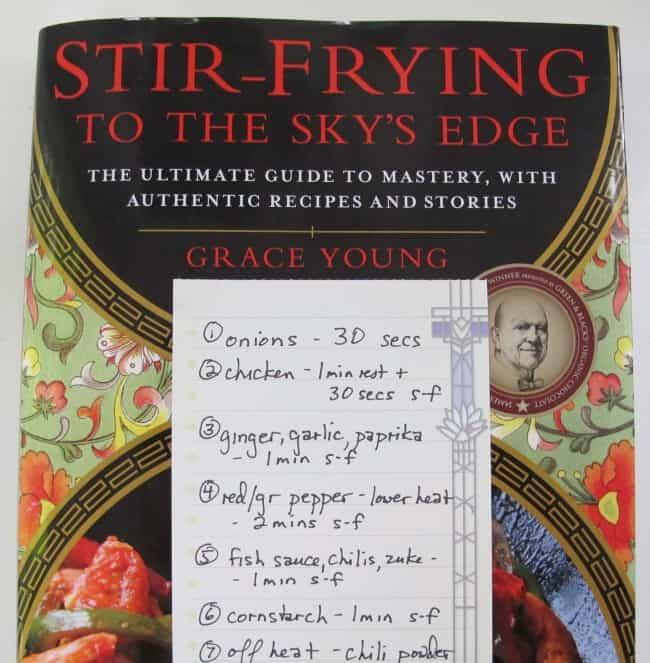 recipe for stir frying