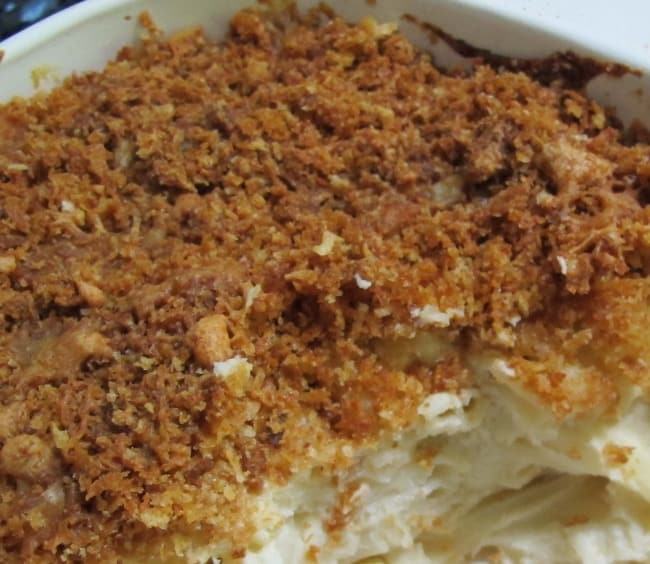 breadcrumbs on macaroni and cheese
