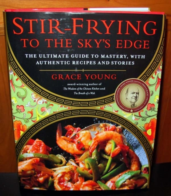 cookbook on stir frying