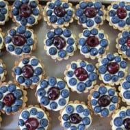 Blueberry & Cherry Tartlets