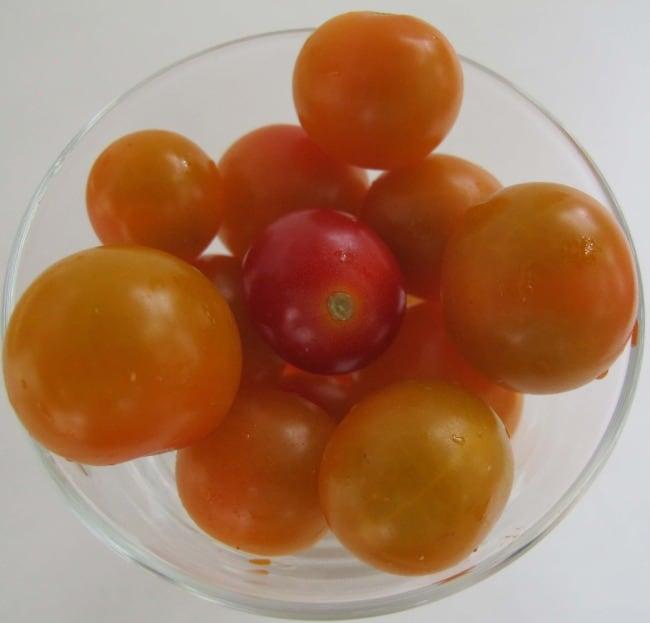 cherry tomatoes, tomatoes