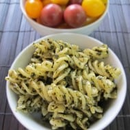 Easy Pesto Pasta & Tips for Using Fresh Basil