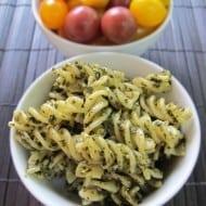 Easy Pesto Pasta & Tips for Using Fresh Basil