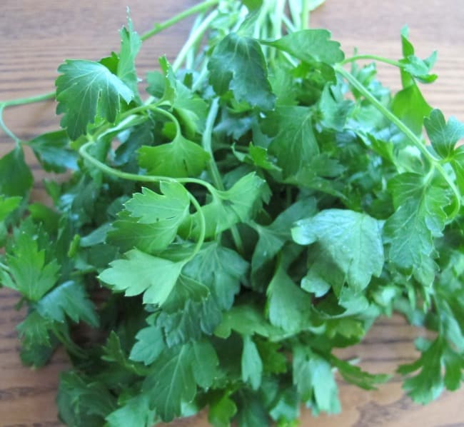 parsley, about herbs