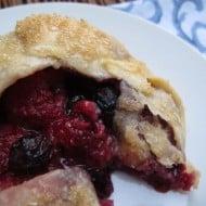 Raspberry-Blueberry Galette