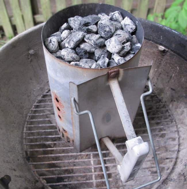 charcoal grilling, charcoal starter