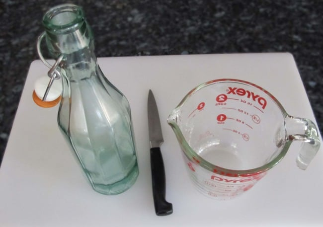 equipment for homemade vanilla extract