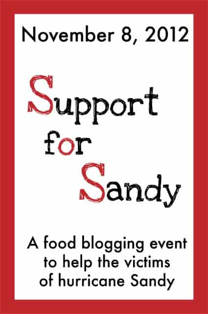 Food Bloggers Support for Sandy, hurricane relief