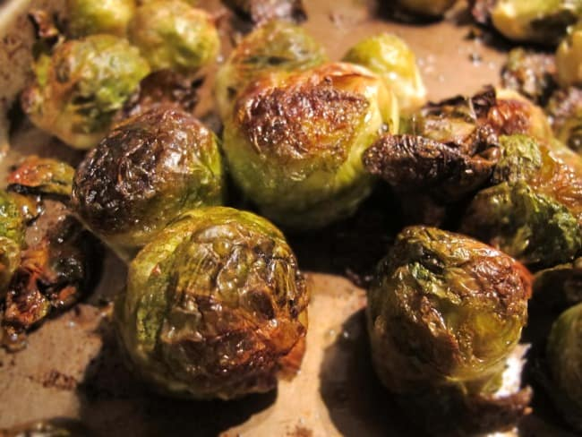 recipe for roasted brussels sprouts, how to roast brussels sprouts